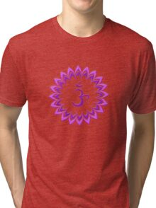 Om or Aum Symbol of wisdom and meditation Tri-blend T-Shirt