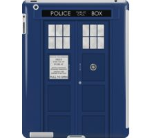 Doctor Who's Tardis iPad Case/Skin