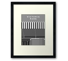 Victoria Park - Two Tone Framed Print