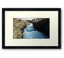 Blue Ribbon River Framed Print