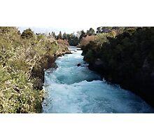 Blue Ribbon River Photographic Print