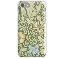 William Morris Floral Pattern - Compton wallpaper iPhone Case/Skin