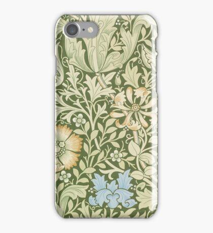 William Morris Floral Pattern - Compton wallpaper iPhone Case/Skin