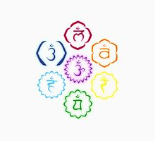 The 7 Main Chakras in a Circle Unisex T-Shirt