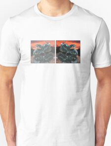 Motorcycle sunset Unisex T-Shirt