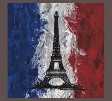 Eiffel Tower Baby Tee