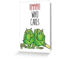 The Terrible Two Greeting Card
