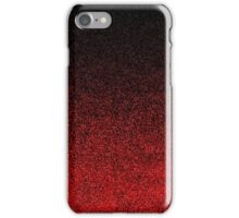 Red & Black Glitter Gradient iPhone Case/Skin