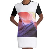 coloured rocks Graphic T-Shirt Dress