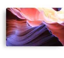 coloured rocks Canvas Print