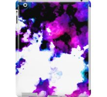 blue and purple watercolor iPad Case/Skin