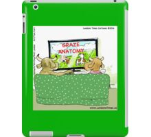 Graze Anatomy For Cow Viewing iPad Case/Skin