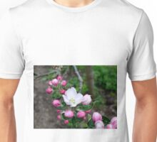 flower and buds Unisex T-Shirt