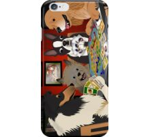 Dogs Playing Settlers of Catan iPhone Case/Skin