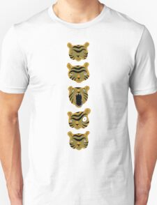Tiger Buttons T-Shirt