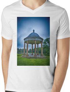 blue Pavillion Mens V-Neck T-Shirt