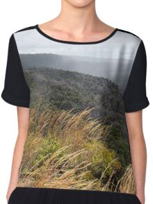 You Whisper My Name In The Wind Chiffon Top