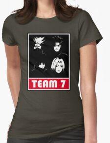 kakashi uzumaki sasuke sakura Womens Fitted T-Shirt