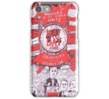 2016 May Day Poster...another election year iPhone Case/Skin