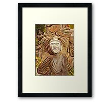 Buddha Asks Why 4 Framed Print