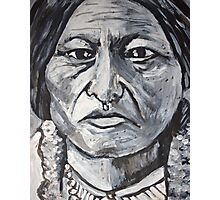 Sitting Bull Photographic Print