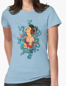 True Ocean Delight Womens Fitted T-Shirt