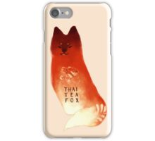 Thai Tea Fox iPhone Case/Skin