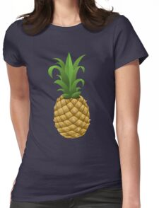 Pineapple exotic juicy fruit Womens Fitted T-Shirt