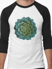 Succulent Men's Baseball ¾ T-Shirt