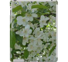 White Blossoms  iPad Case/Skin