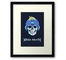 Mega Death Framed Print