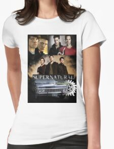 What the heckie Padalecki Womens Fitted T-Shirt