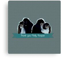 Thank you Molly Hopper Canvas Print