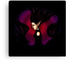 Witchcraft (Black) Canvas Print