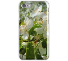 White Blossoms #2 iPhone Case/Skin