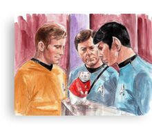 New Rat on the Enterprise Canvas Print