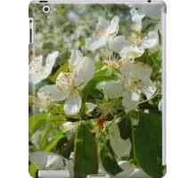White Blossoms #2 iPad Case/Skin