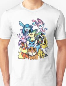 Eevee and Friends T-Shirt