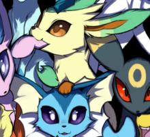 Eevee and Friends Sticker