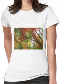 pine brush Womens Fitted T-Shirt