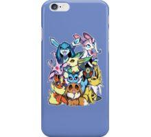 Eevee and Friends iPhone Case/Skin