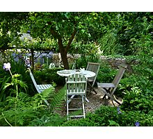 A Place To Relax And Enjoy A Bite To Eat Photographic Print
