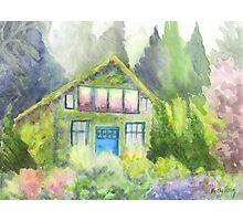 Garden House Photographic Print