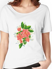 Bouquet with red flowers Women's Relaxed Fit T-Shirt