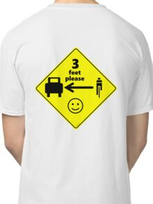 Safety First for Cyclists (US) Classic T-Shirt