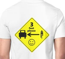 Safety First for Cyclists (US) Unisex T-Shirt