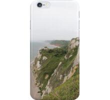 Beer Devon coastline iPhone Case/Skin