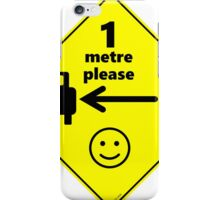 Safety First for Cyclists (Europe) iPhone Case/Skin