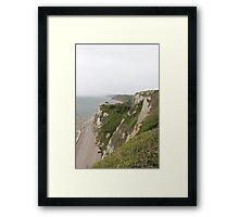 Beer Devon coastline Framed Print