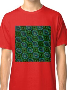 Abstract Design Pattern 535C Classic T-Shirt